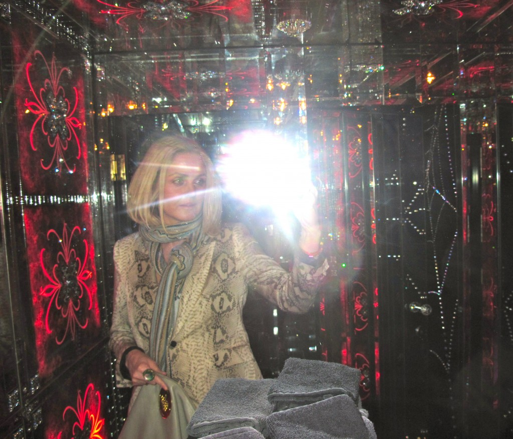 STYLISH LADIES ROOM AT SKETCH IN LONDON