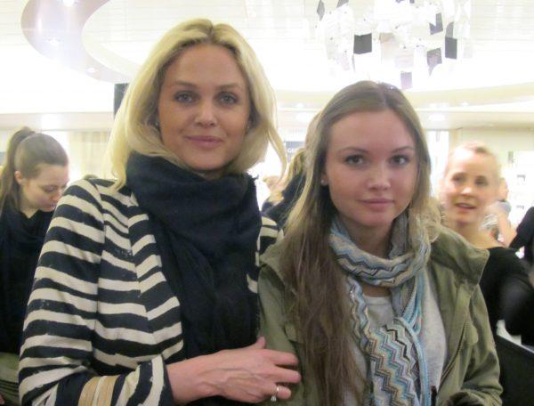 Anne Kathrine Krøvel og Rebecca Krøvel