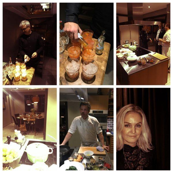 Kokkekurs og middag på Plah Home med Tony og Terje